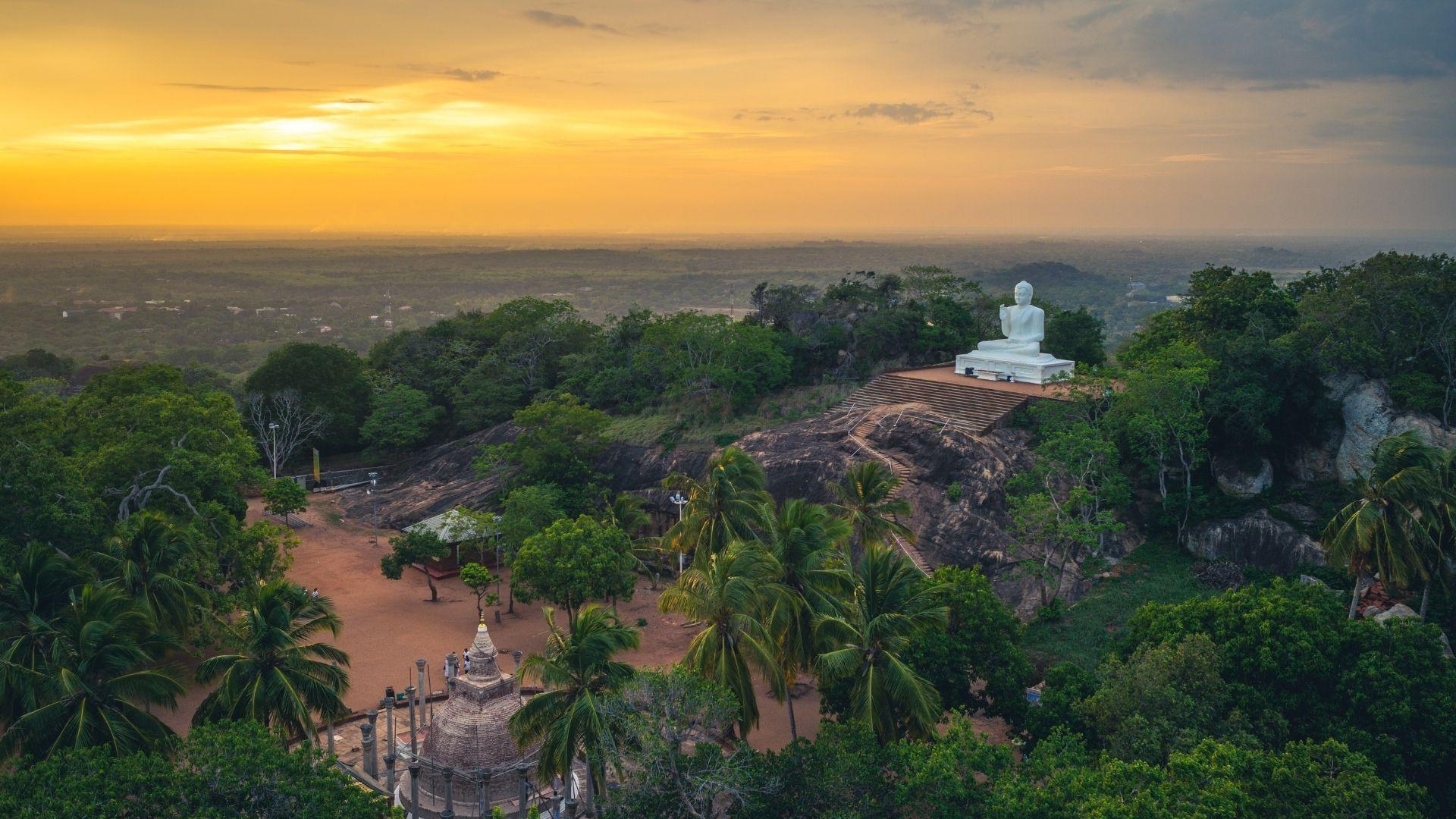 Jetavana Dagoba Anuradhapura Sri Lanka