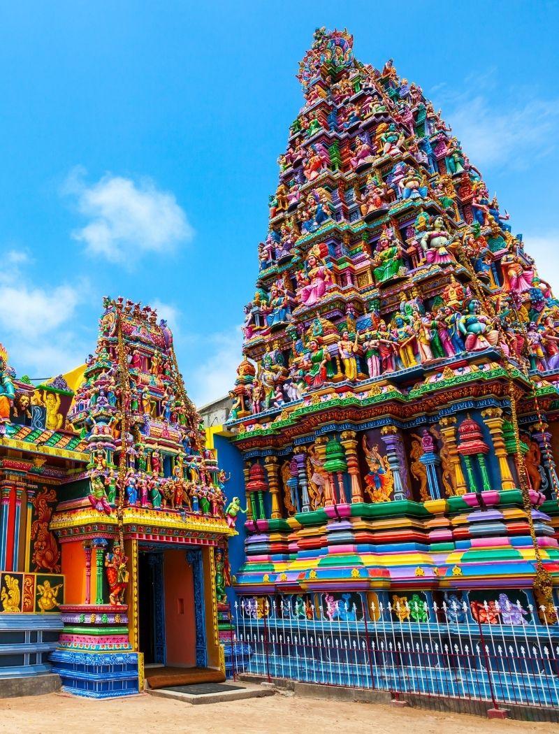 Badrakali Amman Temple in Trincomalee Sri Lanka