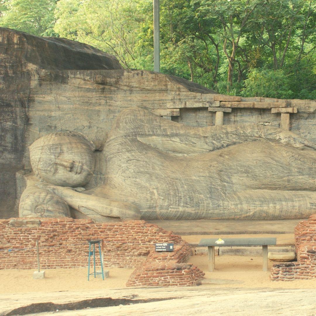 Buddha Statue at Polonnaruwa  Gal Viharaya
