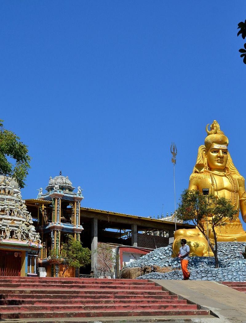New Thirukkoneswaram Kovil in Trincomalee Sri Lanka